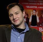 David Morrissey promoting Born Romantic (2000)